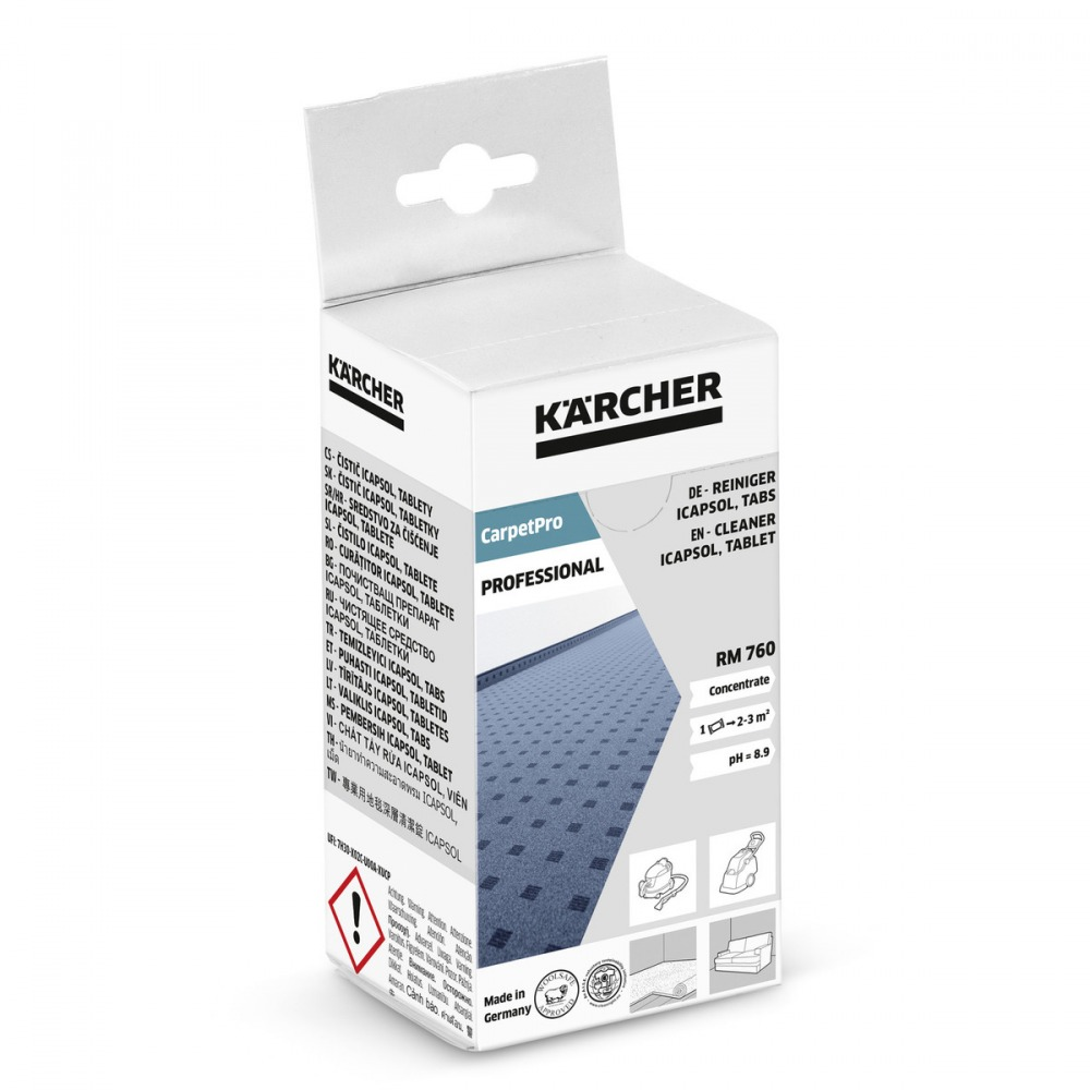 Kärcher - RM 760 tabs, CarpetPro - tablety 16ks